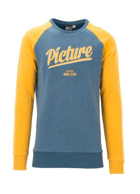 PICTURE – CARMACKS SWEAT PETROL BLAUW