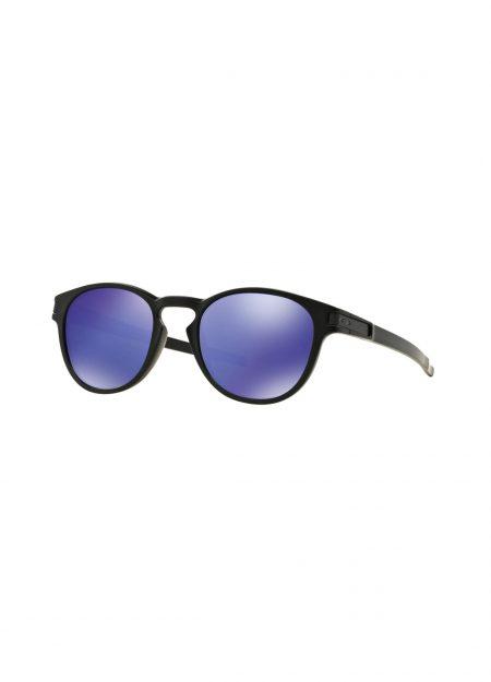 Oakley Latch zonnebril mat zwart, violet iridium