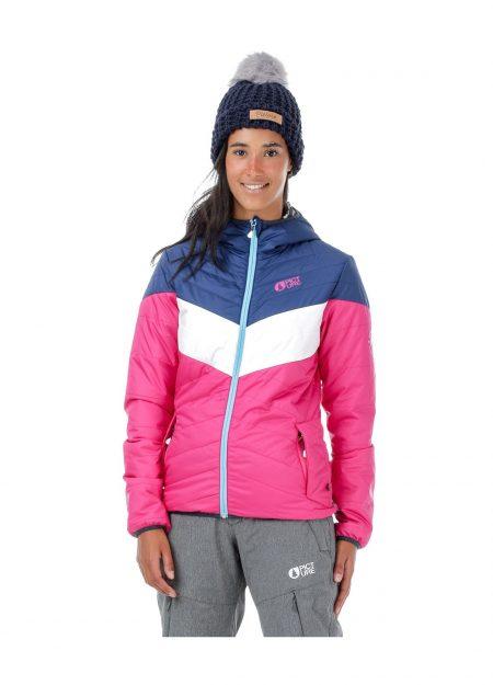Picture Chloepuff jacket roze