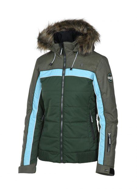 Rehall KATE-R-fur snowjacket leaf moss