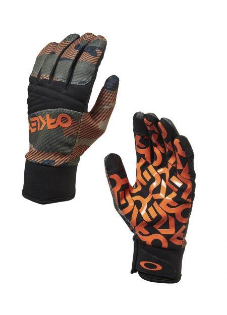 Oakley Factory Park Handschoenen Warning Camo