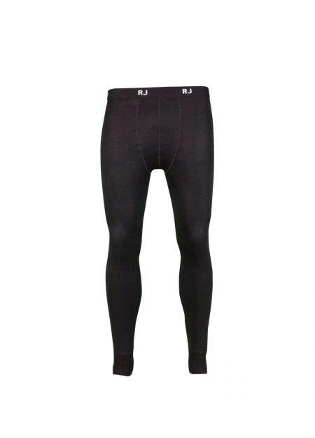 RJ Bodywear thermo pantalon heren zwart