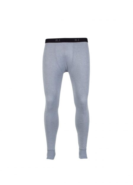 RJ Bodywear thermo pantalon heren grijs