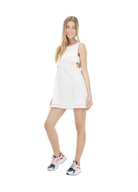 Picture Eva jurk off-white