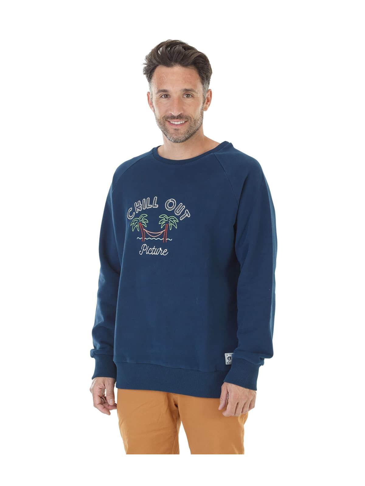 Picture Hammock hoodie blue