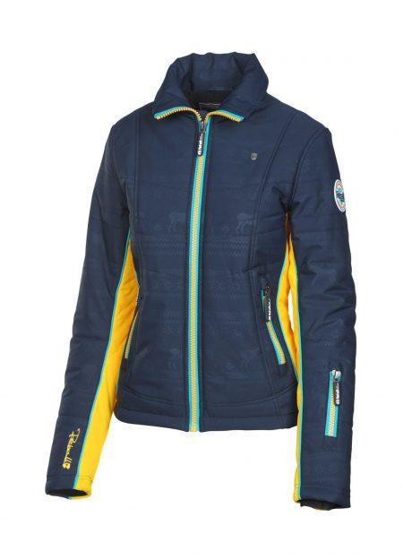 Rehall Mary-R snowjacket raindeer dark navy