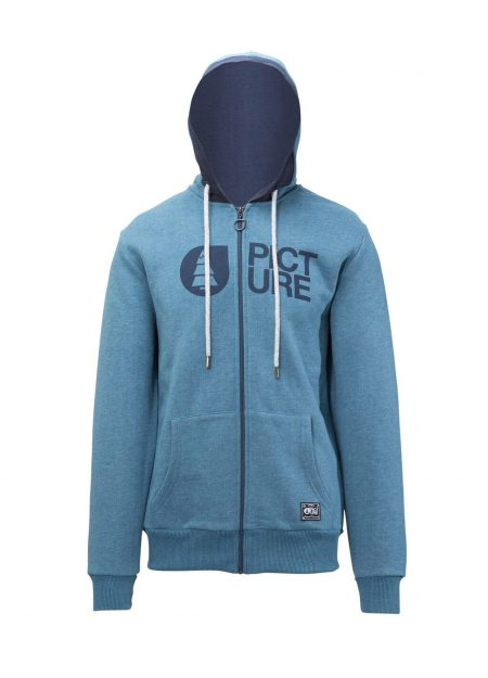 PICTURE – BASEMENT ZIP SWEAT PETROL BLAUW