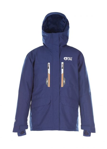 PICTURE – LEGENDER JACKET DONKERBLAUW