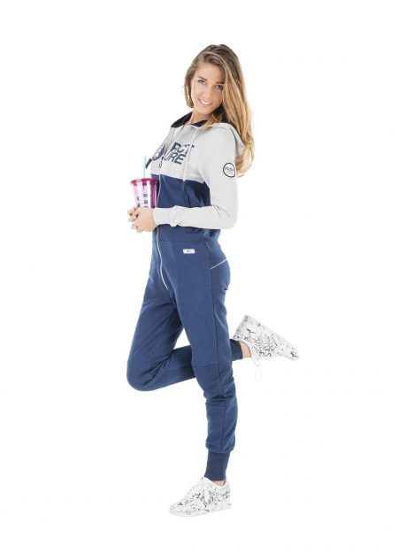 PICTURE – MAGY 2 SUIT DONKERBLAUW