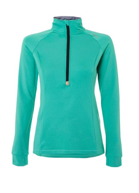 Brunotti Yrenna fleece fluo mint