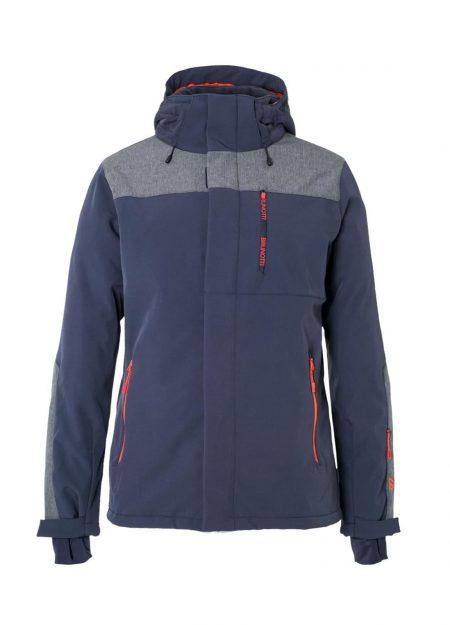 Brunotti Twintip softshell jacket blauw