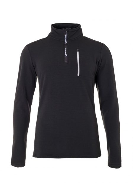 Brunotti Wetcat fleece zwart