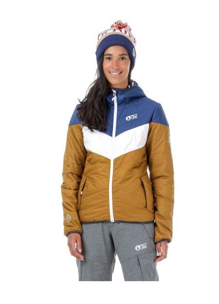 Picture Chloepuff jacket bruin