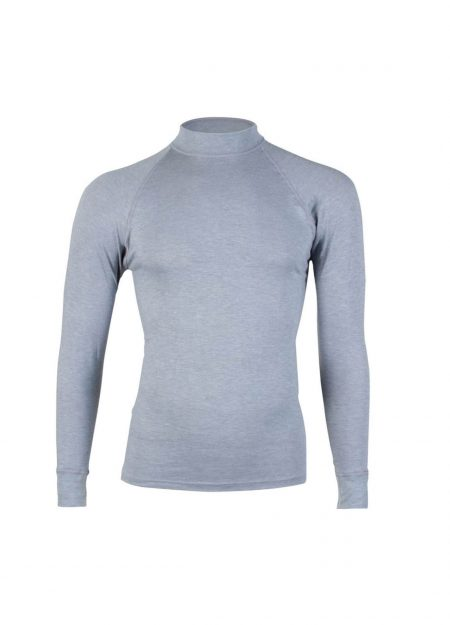RJ Bodywear thermo shirt lange mouwen heren grijs