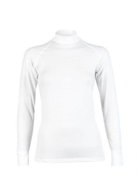 RJ Bodywear thermo shirt lange mouwen dames wit