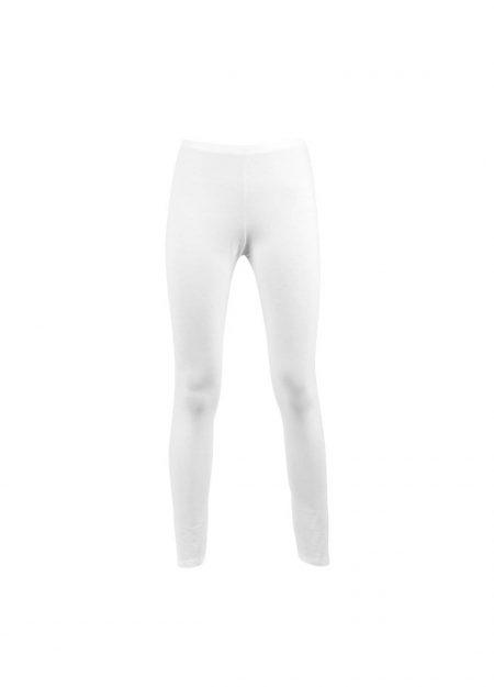 RJ Bodywear thermo legging dames wolwit