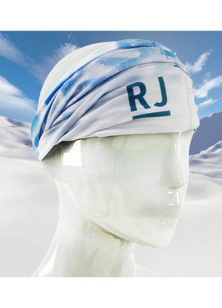 RJ Bodywear scarf print snow flake