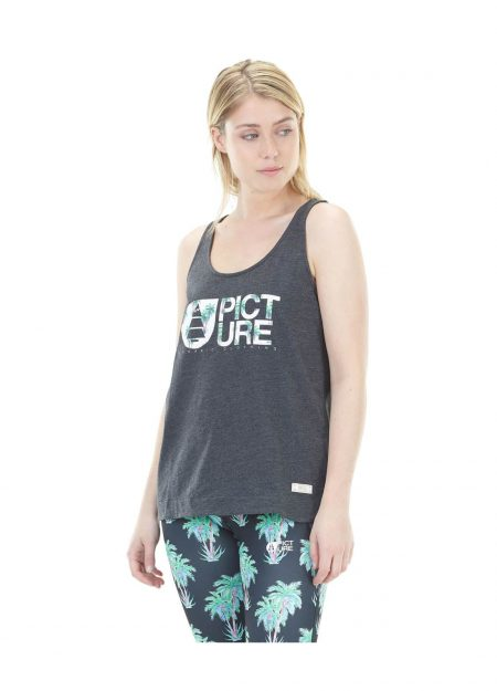 Picture Basement beach top black