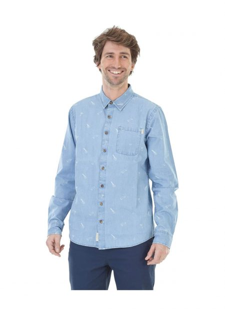Picture Puako blouse Washed denim