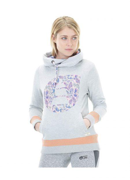 Picture Newla hoodie grey melange