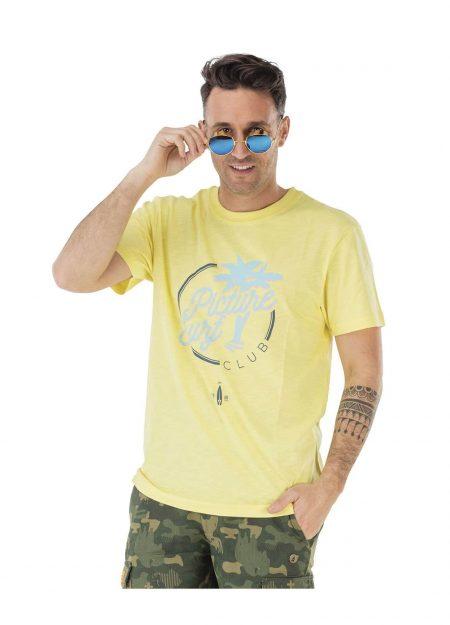 Picture Borabora shirt geel