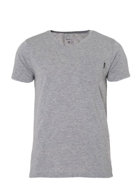 Brunotti-ADRANO-Light-Grey-Melee-shirt-mountainlifestyle.nl