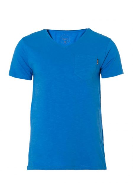 Brunotti-ADRANO-Neon-Blue-shirt-mountainlifestyle.nl