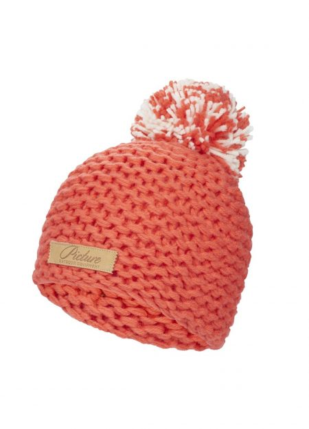 Picture – Mayo beanie corail