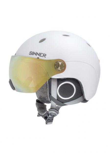 Sinner – Titan visor matte white