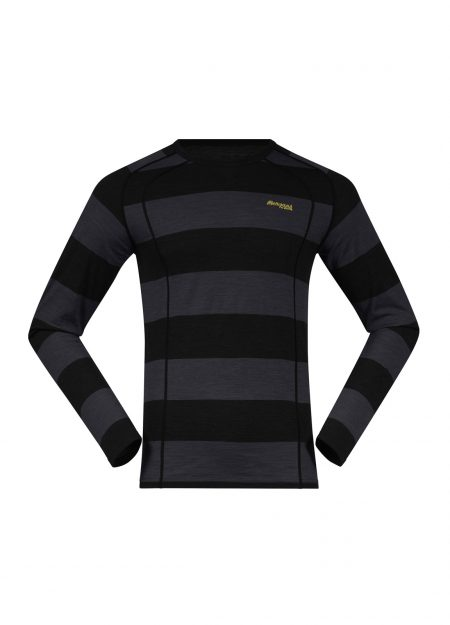 Bergans-Fjellrapp-shirt-black-striped-VK-mountainlifestyle
