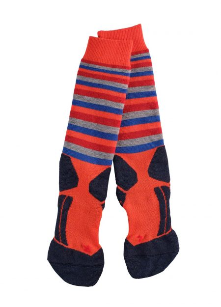 Falke-kids-sk2-stripes-orange-VK2-bestelonline-mountainlifestyle.nl