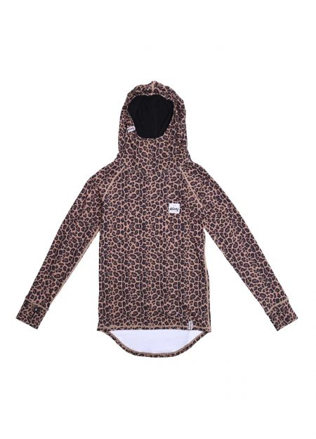 EIVY – ICECOLD HOOD TOP LEOPARD