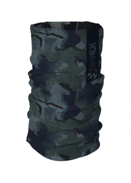 SINNER – BANDANA CAMO MIDNIGHT BLUE/BLACK