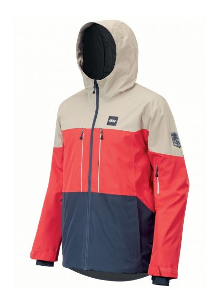 PICTURE – OBJECT JACKET RED DARK BLUE