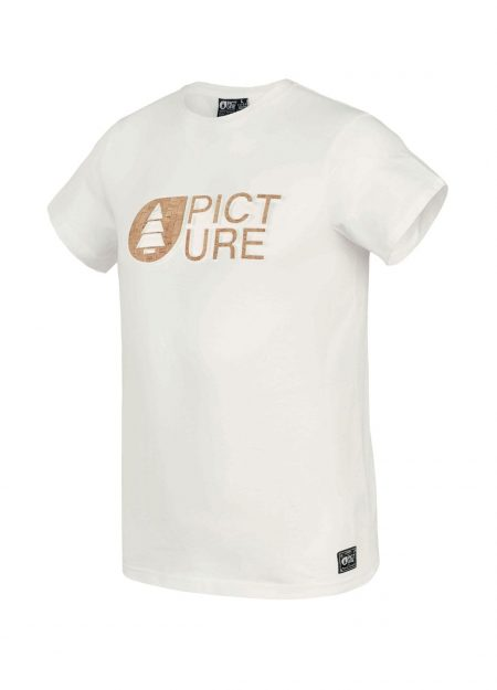 PICTURE – BSMNT CORK T-SHIRT WHITE