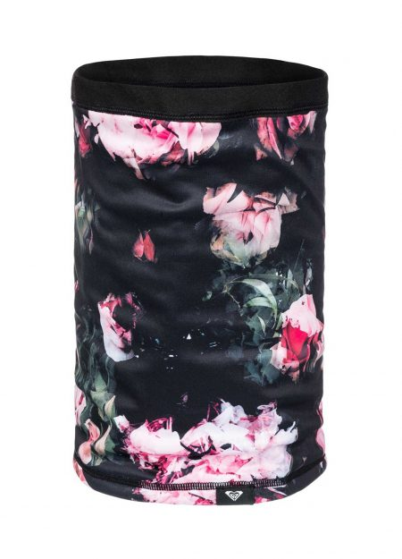 ROXY – LANA COLLAR TRUE BLACK BLOOMING