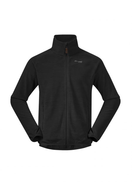 BERGANS – HAREID FLEECE BLACK