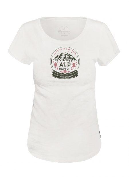 ALPRAUSCH – ALPE-LIEBI T-SHIRT SNOWWHITE