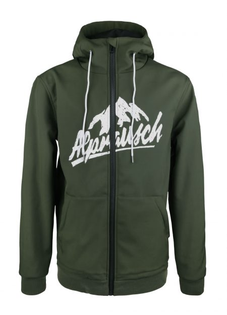 ALPRAUSCH – URSI HOODED RIDING SOFTSHELL GREEN