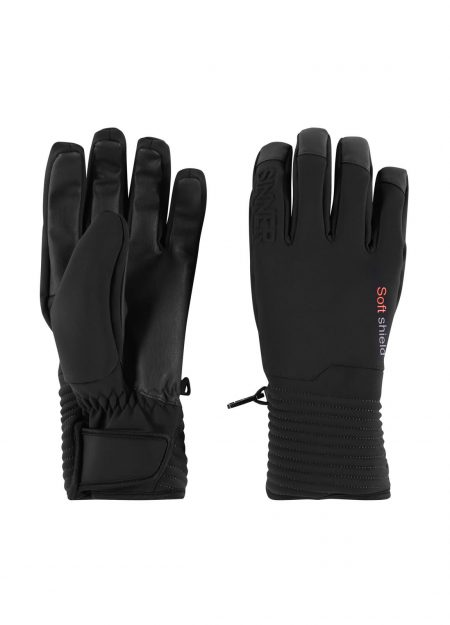 SINNER – SKI MONT GLOVE BLACK