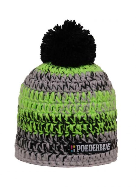 POEDERBAAS – COLOURFULL GREEN GREY BLACK