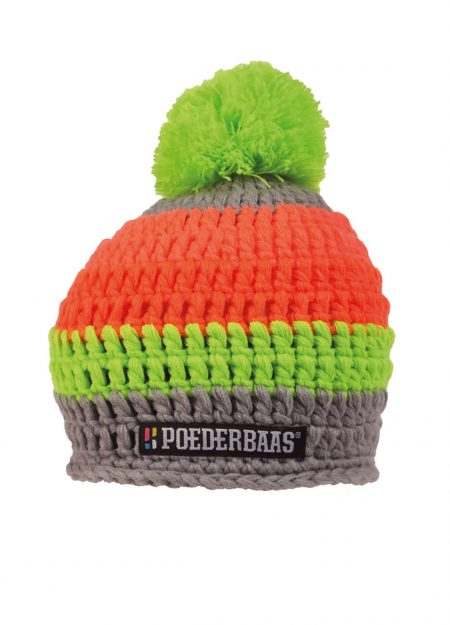 POEDERBAAS – COLOURFULL GREY GREEN ORANGE PINK
