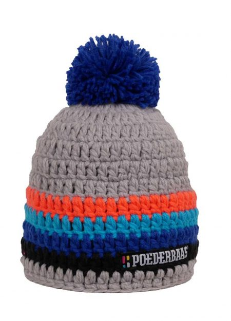POEDERBAAS – COLOURFULL GREY BLUE ORANGE